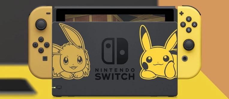 Nintendo Switch édition limitée : Pokémon : Let's Go, Pikachu et Pokémon : Let's Go, Évoli