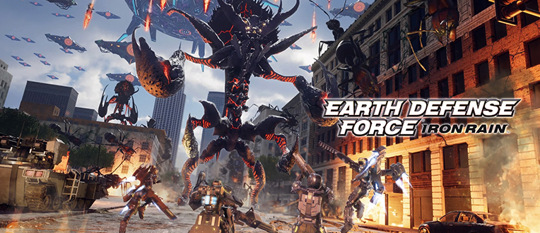 Earth Defense Force – Iron Rain