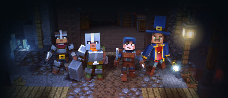 Minecraft Dungeons – Dispo le 26 mai
