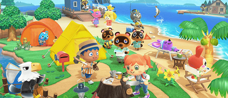 Animal Crossing : New Horizons – La formule évasion du moment