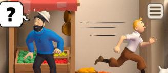 Tintin Match disponible sur IOS et Android le 31 aout