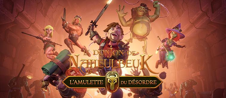 Le Donjon de Naheulbeuk: L'Amulette du Désordre