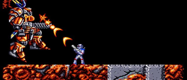 Turrican Flashback dans les starting-blocks