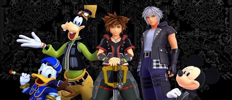 La franchise Kingdom Hearts arrive aujourd'hui sur PC via l'Epic Games store