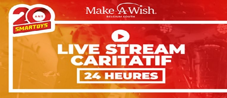 24h de streaming caritatif