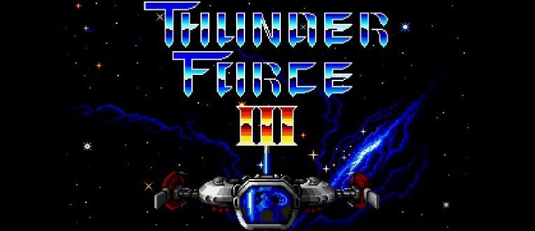 Du shmup pour tous – Thunder Force III